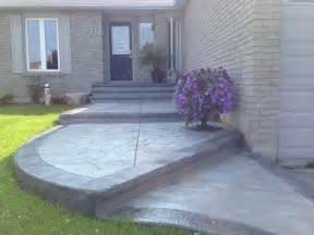 patio porch sted concrete front entrance porch oshawa