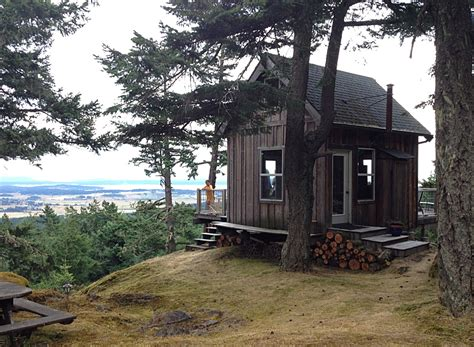 Washington Cabins by Grid Cabin On San Juan Island Washington San