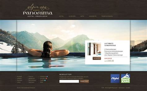 Spa Website Inspiration | panoramahotel oberjoch 4 star superior spa hotel