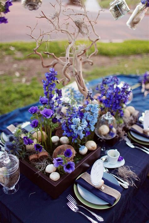 Oscars Liveblog Purple And Blue Baby by Lovely Purple And Blue Wedding Tablescape
