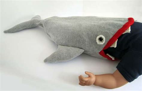 baby shark trend predator toddler nap packs knitted baby shark sleeping bag