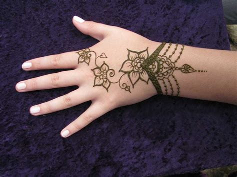 henna tattoo easy mehndi designs simple mehndi designs