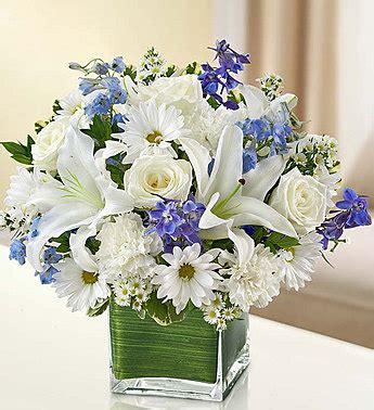 White Wedding 1 800 Flowerscom   healing tears blue and white from 1 800 flowers com