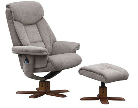 Reclining Chair And Footstool by Exmouth Swivel Recliner Chair Reclining Armchair