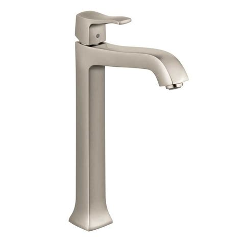 Hansgrohe Bathroom Faucet Hansgrohe Metris C One Handle Vessel Sink Bathroom Faucet Nickel 31078821 J Keats