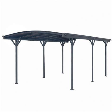 tettoia in alluminio prezzi carport tettoia per automobili in alluminio cm 505x300cm