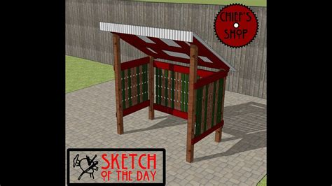 chiefs shop sketch   day grill shed youtube