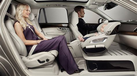 loct child seat volvo xc90 built in baby seat