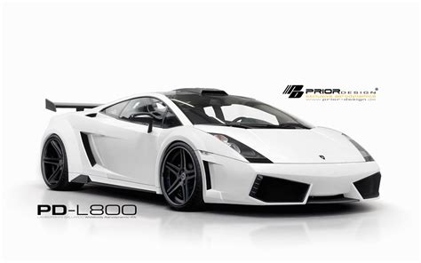 Lamborghini Kits Prior Design Pd L800 Widebody Aero Kit For Lamborghini