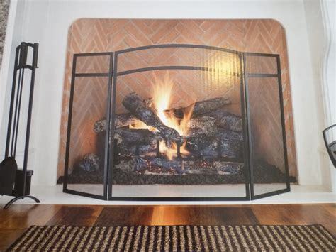 glass door fireplace screen on custom fireplace quality