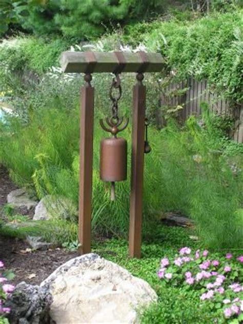 Backyard On Bell Japanese Bell For Side Yard Garden Hardscape
