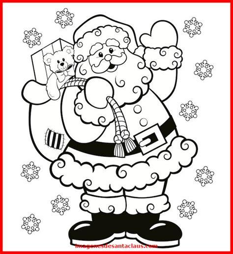 imagenes navideñas para colorear de papa noel descarga estas lindas im 225 genes de papa noel para colorear