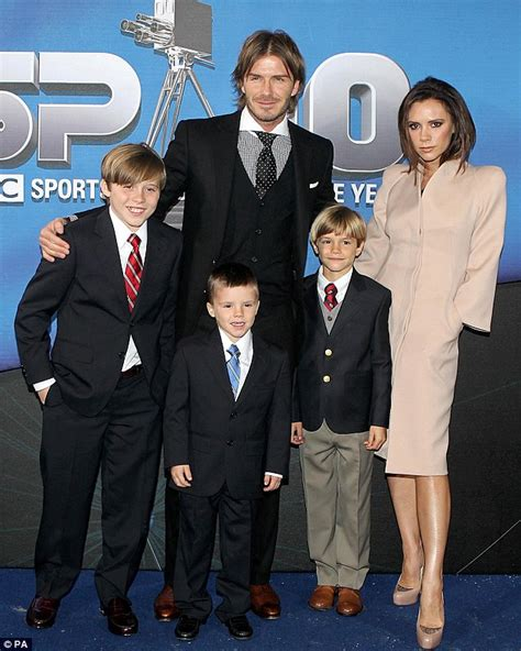 The Beckhams Are by Seven Beckham Baby Named After Character In