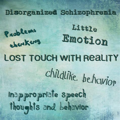 7 Signs Of A Disorganized by Symptoms Of Disorganized Schizophrenia Search Results