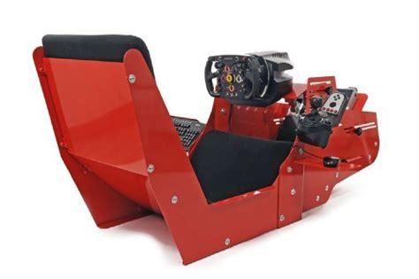 postazione per volante postazione per simulazione di guida formula 1