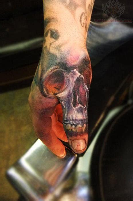 colored skull tattoo designs thumb color skull