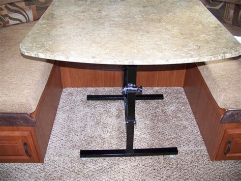 rv dinette table legs images i where i could