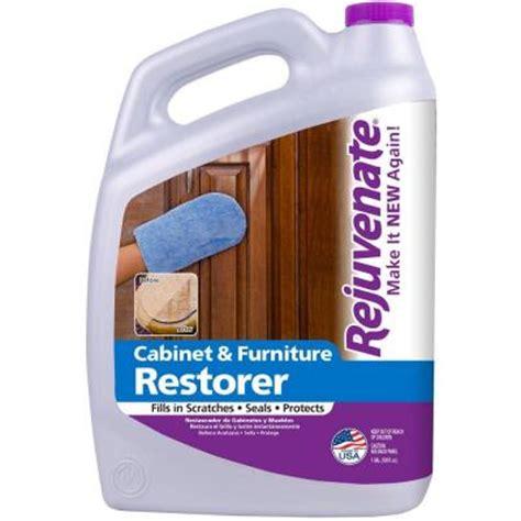 Rejuvenate Cabinet Furniture Restorer And Protectant rejuvenate 128 oz cabinet and furniture restorer and