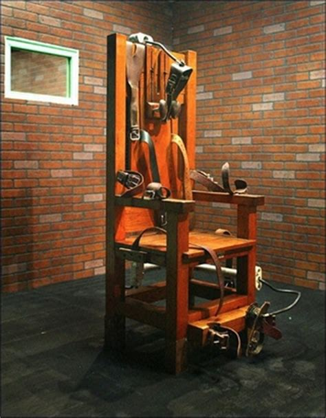 Death Penalty News August 2012 Liberals Furious When Gets The Electric Chair In A