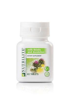 Nutrilite Detox by A8084 Nutrilite 174 Milk Thistle And Dandelion 60 Count