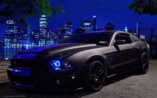 wallpaper mustang black tuning cars free