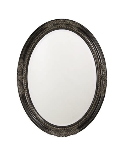 black oval bathroom mirror queen ann oval mirror with antique black finish uvhe4081