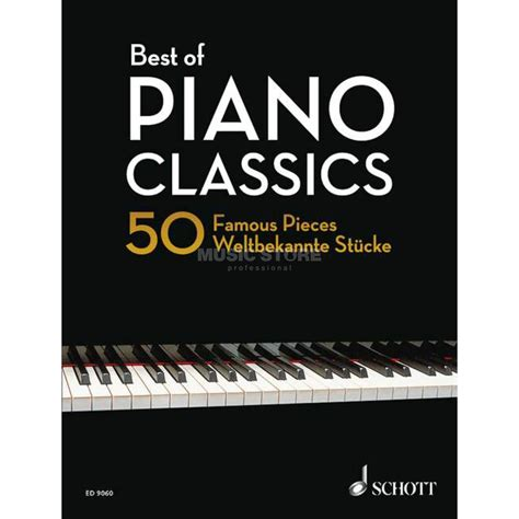0001191128 best of piano classics schott verlag best of piano classics heumann piano classics