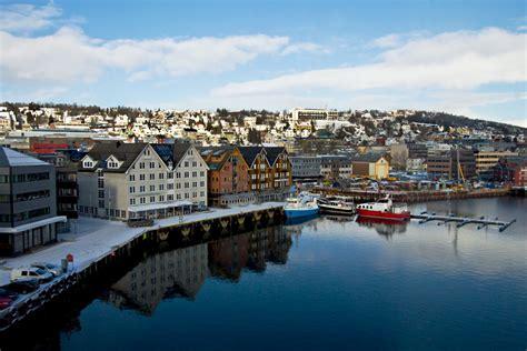 PHOTO: Tromso Norway Harborfront