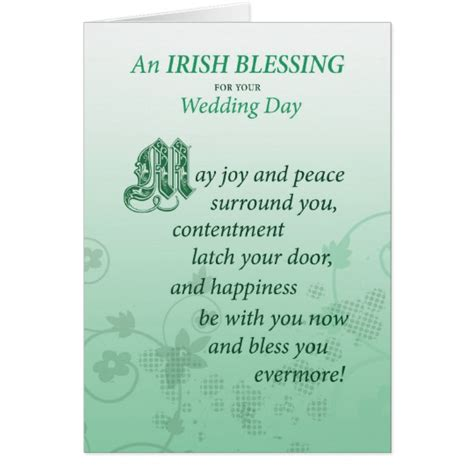 wedding blessing for wedding blessing congratulations card zazzle