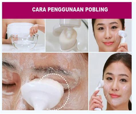 Ready Pembersih Wajah Pobling Cleanser jual pobling pore cleanser sikat pembersih wajah muka korea komik murah jakarta