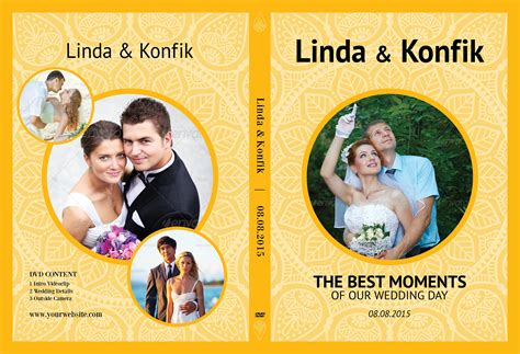 wedding dvd cover template wedding dvd cover cd label v07 stationery templates