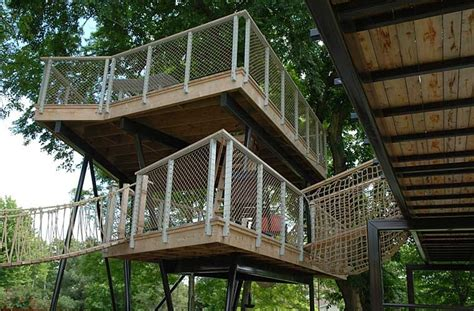 Landscape Structures Treehouse Grown Up Play Structure Treehouse For Adults