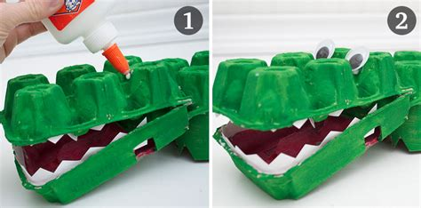 How To Make A Crocodile Mask Out Of Paper - 4 zoo themed crafts for and 1 for