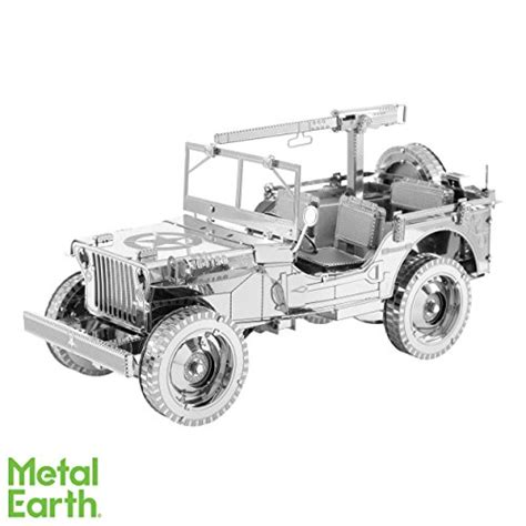 Jeep Office Bag Val605 3 1 fascinations iconx willys mb jeep 3d metal model kit import it all