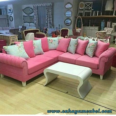 Sofa Sudut Minimalis sofa tamu sudut minimalis modern cahaya mebel jepara