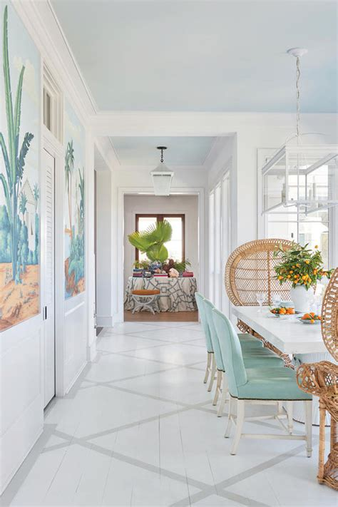 caribbean inspired breezy south carolina beach house