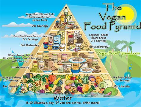 piramide alimentare vegana dieta vegana
