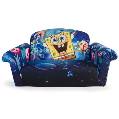 walmart flip open sofa marshmallow furniture spongebob 2 in 1 flip open sofa