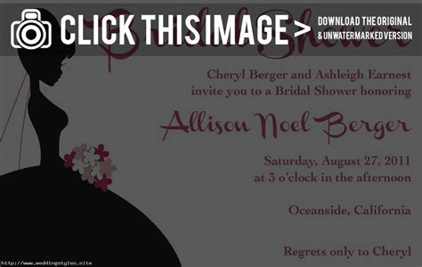 free wedding shower invitation templates   Different