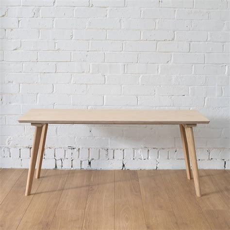 plywood bench perky plywood bench without cushion by winter s moon