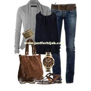 Casual fall outfits for women just for hijab