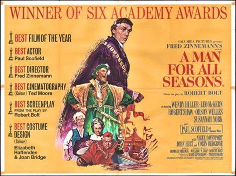 Man Seasons 1966 Film A Man For All Seasons Original Film Poster Movie Poster Studio 1581