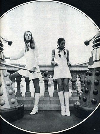 twiggy lada minidresses go go boots and daleks what more could a