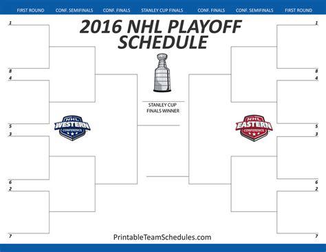 nhl playoff bracket template printteamschedules printable team schedules deviantart