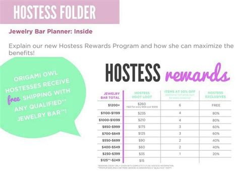 Origami Owl Rewards - new hostess rewards origami owl