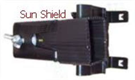 Garage Door Sensor Sun Shield by 41b873 Sun Shield For Liftmaster Safety Sensors