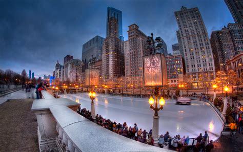 fotos chicago invierno fondos de pantalla 5109x3211 ee uu invierno illinois