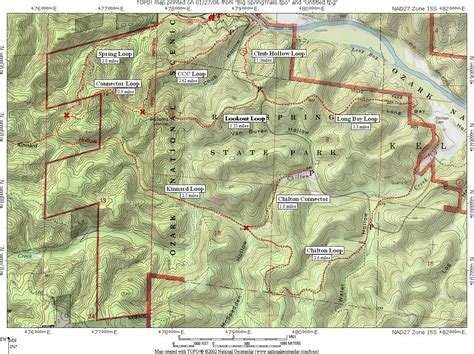 ozark trail map ozark maps npmaps just free maps period