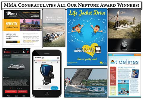 miami boat show industry breakfast marine marketers of america announces 2014 neptune awards