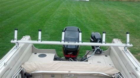 boat rod holders for trolling pursuit trolling bar and rod holders ohio game fishing